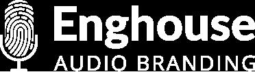 ei audio branding white logo png