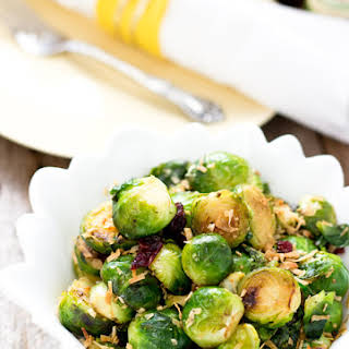 Simple Stir-fry Brussels Sprouts.