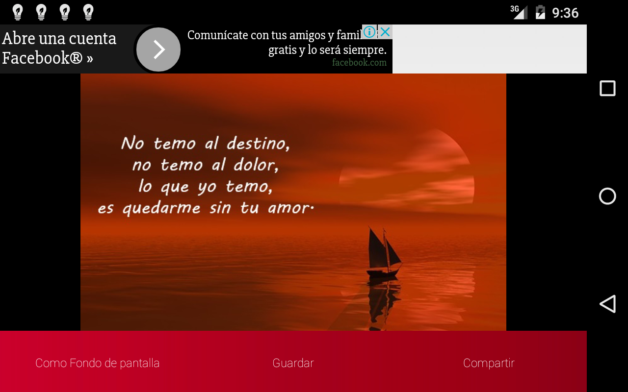 Poemas de amor- screenshot