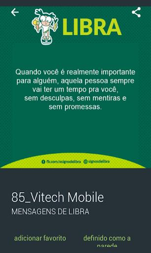 Mensagens de Signos- Libra 2.0.0.0 screenshots 3