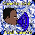 Caneta azul icon