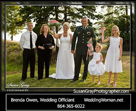 Photo: Portman Marina Wedding - Anderson, SC - married with their children 9/10 - Photo courtesy http://SusanGrayPhotographer.com http://WeddingWoman.net