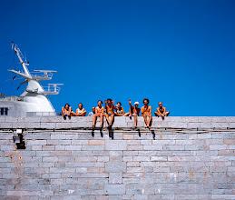 Photo: Le bleu du ciel 1, Corse, 2001