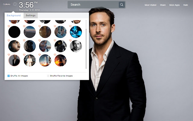 First Man Wallpapers Theme New Tab