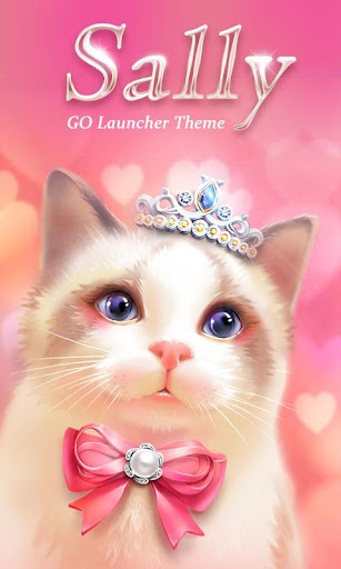 Sally GO Launcher Theme