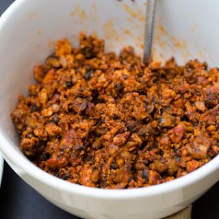 Homemade Vegan Chorizo.