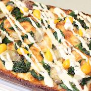 Large Spring Vegetarian Pizza