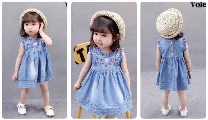 25 wzorów ślicznych sukienek dla niemowląt