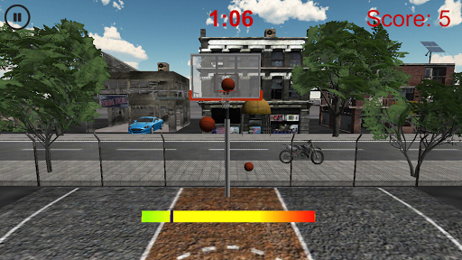 Basketball Street Shoot Out