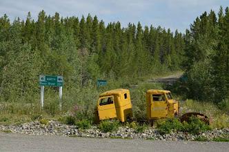 Photo: entlang der South Canol Road