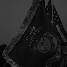 flags  by Matthew Donathan - Artistic Objects Still Life ( usa, cannon, slr, black and white, marine )