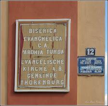 Photo: Turda - Str. Vasile Alecsandri, Nr.12 - Biserica Evanghelica C.A. - 2018.06.23