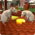 Stray Mouse Family Simulator: City Mice Survival icon
