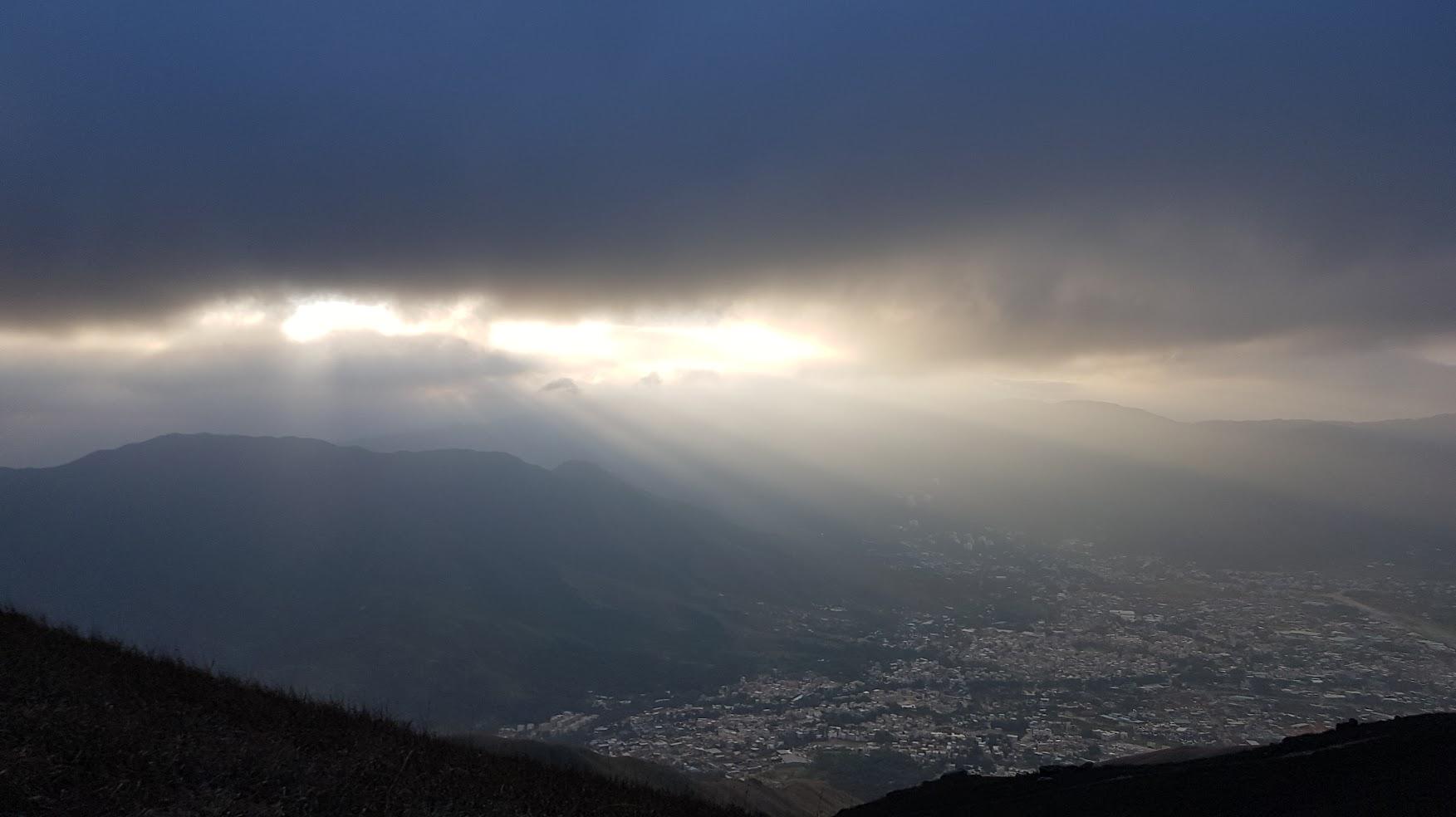雞金嶺上拍到的晨光,為我的2017年揭開序幕