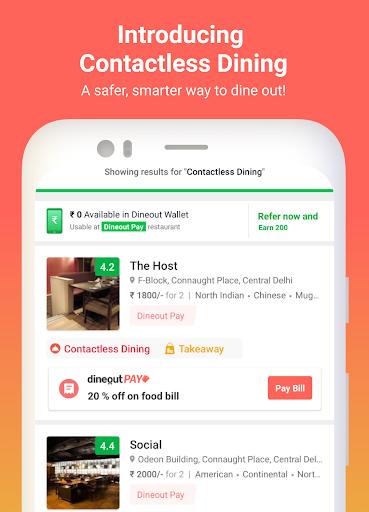 Dineout:Find Restaurants, Deals & Assured Cashback Apk 1