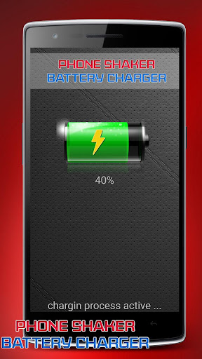 Battery charger shake prank