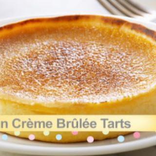 Pumpkin Creme Brulee Tarts