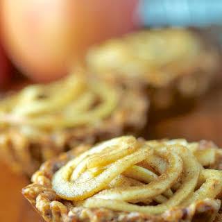Spiralized Apple Tartlets.