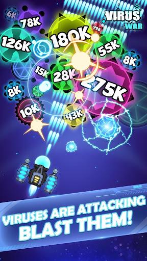 Virus War - Space Shooting Game 1.7.5 screenshots 1