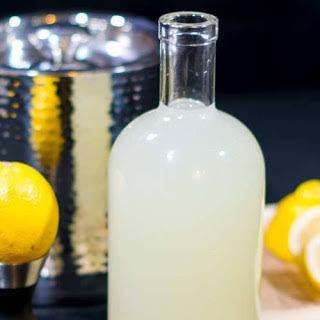 Fresh Homemade Sour Mix.