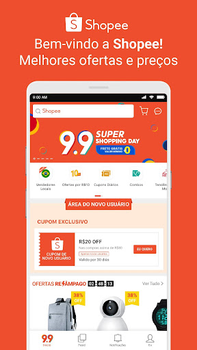 Shopee BR: 9.9 Shopping Day Apk 1