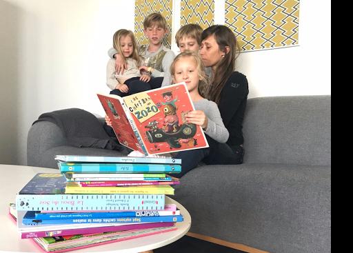 Agnès, ses enfants, et leurs albums jeunesse