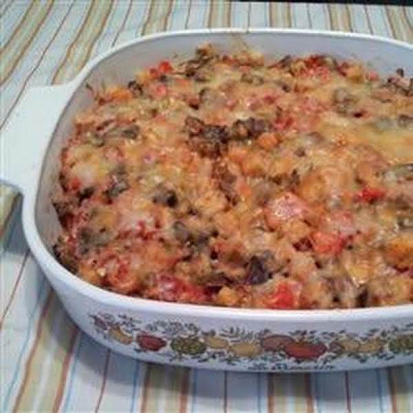 Eggplant-cheese Casserole Recipe