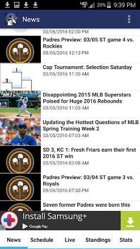 San Diego Baseball  screenshots 4
