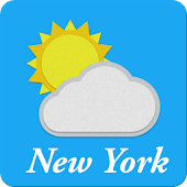 The weather in New York