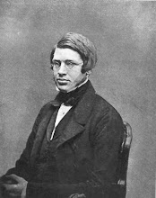 """Photo: Alfred Russel Wallace in 1848 (as dated in 1st edition of """"My Life"""") aged 25 just before he left for the Amazon. This is the earliest known image of ARW. Curiously, in the 2nd (1908) edition of """"My Life"""" this image is captioned """"AGED 24"""", which would mean that it would have been taken in 1847. Photographer: Unknown (possibly Thomas Sims). First published in ARW's My Life (1905). I do not know if the original (a Daguerreotype) survives, but a old photograph taken of it is present in the Natural History Museum's, (London) Wallace Archive. The image is laterally reversed as in most early Daguerreotypes. Scanned from My Life (1905). Copyright of scan: A. R. Wallace Memorial Fund & G. W. Beccaloni."""