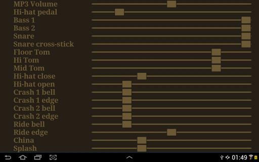 Drum kit (Drums) free 2.05 Screenshots 15