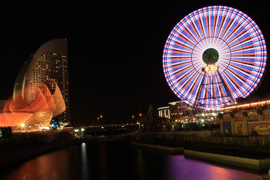 Yokohama,Sakura Ginchou Park by Reza Kurniaman - City,  Street & Park  City Parks ( wonder wheel )