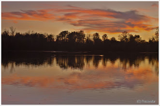 Photo: Sunset / Sonnenuntergang am Waldsee (Lago) 11.10.2011 18:40