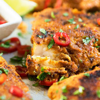 Spicy Malaysian Grilled Fish (Ikan Bakar).