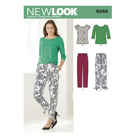 T-shirt, tröja och byxor New Look 6246