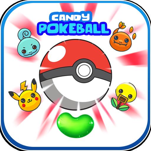 candy pokeball game
