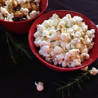 National Popcorn Day – Rosemary Parmesan Popcorn.