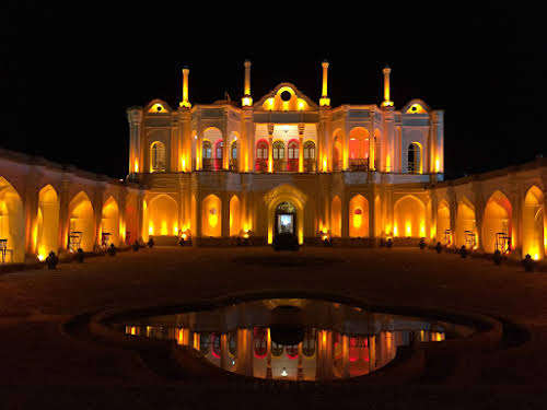 Fath abad Garden by Night