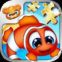 123 Kids Fun PUZZLE GOLD Free icon