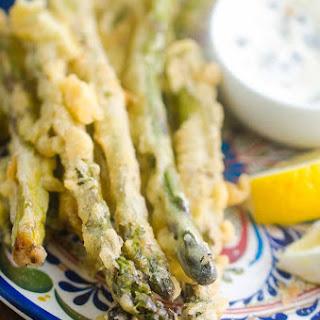 Asparagus Fries with Caper Aioli Recipe
