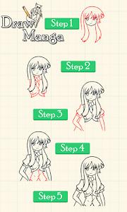 How To Draw Manga screenshot 0