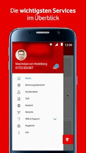 MeinVodafone- screenshot thumbnail