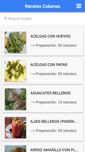 Recetas Cubanas: Cocina Cubana 1.2.3 Screenshots 1