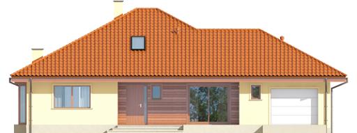 Flori III G1 (wersja B) Leca® Dom - Elewacja przednia