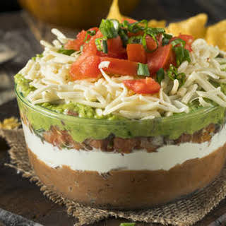 Multi-layer Mexican Dip.