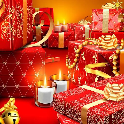 圣诞礼物动态壁纸