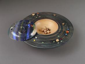 Photo: Dark Energy Clifton Poodry, turner Laurie Tompkins, beadmaker
