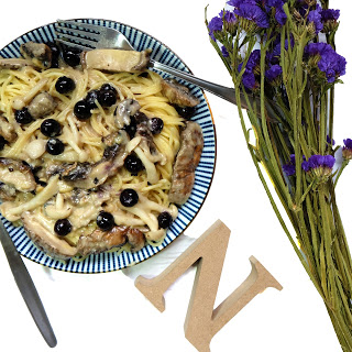 Blueberry Pasta Recipes.