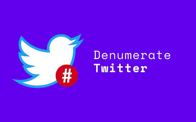 Denumerate Twitter