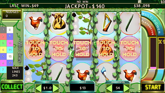 243 Line Jack & Beanstalk Slot- screenshot thumbnail